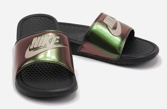 Ojotas Nike Bennasi Print Damas 100 % Originales