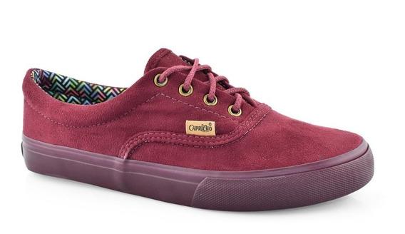 Tênis Capricho Shoes Bordô Lanai Original Cp0386 Feminino