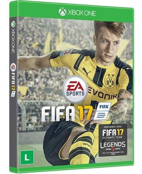 Jogo Game Fifa 17 Xbox One - Lacrado Midia Física Original