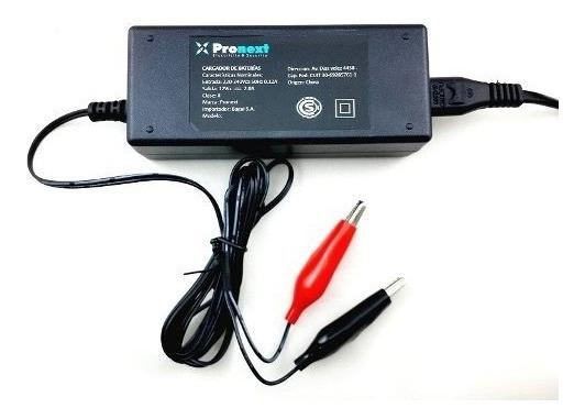Cargador Bateria Gel Moto Auto Inteligente Automático 12v 2a