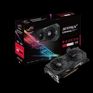 Placa De Video Asus Rog Strix Rx470 4gb Gaming