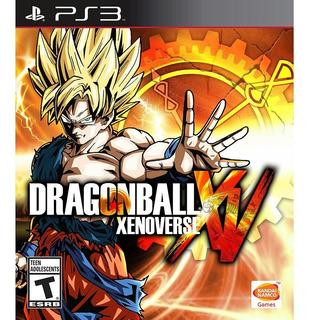 Dragon Ball Xenoverse Juego Ps3 Fisico/ Mipowerdestiny