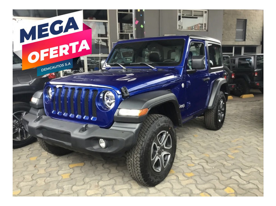 Jeep Wrangler Sport At 2020 Azul Oceano