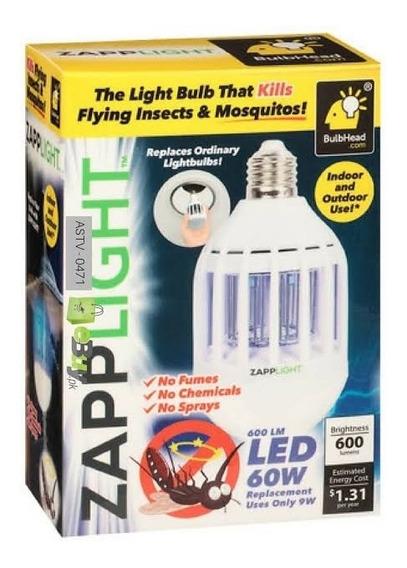 Lampada Zapplight Armadilha Mata Insetos Zika Dengue 2 Em 1