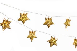 Guirnalda 15 Led Luces 2,30 Mts Deco Estrellas Diseños