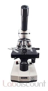 Microscopio Monocular Arcano Xsp-104 Con Iluminación Led