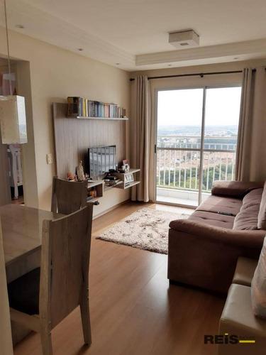 Apartamento Com 2 Dormitórios À Venda, 52 M² Por R$ 230.000,00 - Jardim Wanel Ville Iv - Sorocaba/sp - Ap1187