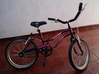 Bicicleta Cross Rodado 20 Mujer