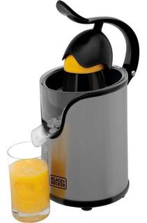 Espremedor De Frutas Cj Inox 100w Black & Dec Inox