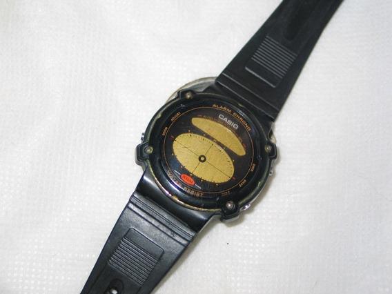 Relógio Casio Ae-31w Sucata Não Funciona Leia Tudo Antigo!