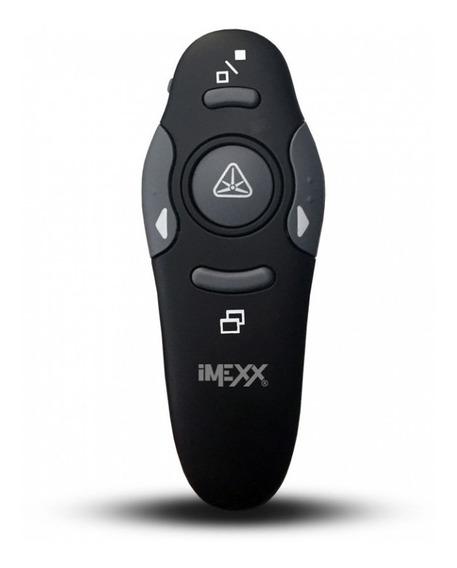 Presentador Inalambrico Con Apuntador Laser Usb Mouse Imexx