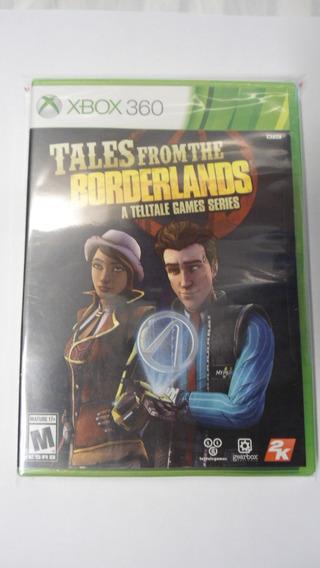 Tales From Borderlands Xbox 360 Mídiafísica Lacrado Telltale