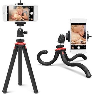 Trípode Xenvo Squidgrip Para iPhone Trípode Flexible Para T