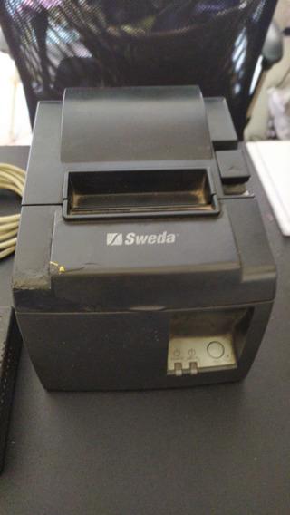 Impressora Sweda Diebold Tsp143 Serial - Usada