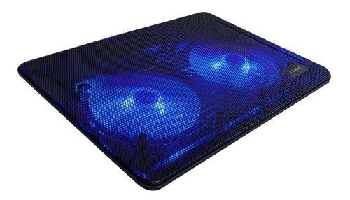 Imagen 1 de 2 de Base Para Notebook 13 A 17 Cooler Led Usb Inclinable Z007