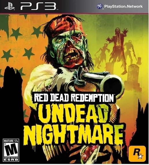 Jogo Red Dead Redemption Undead Nightmare Ps3 M. Fisica