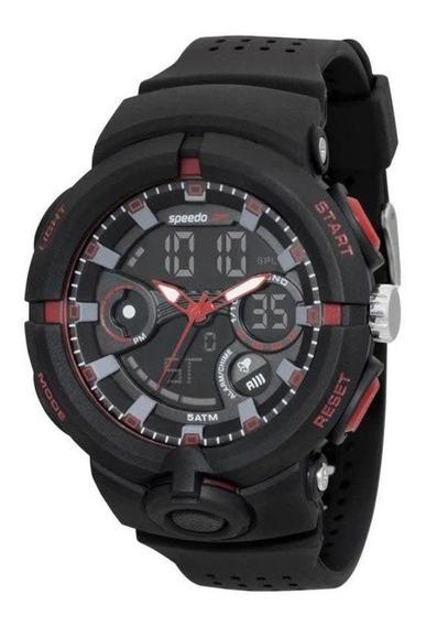 Relógio Masculino Speedo Esportivo Anadigi 81158g0evnp2 - Pr