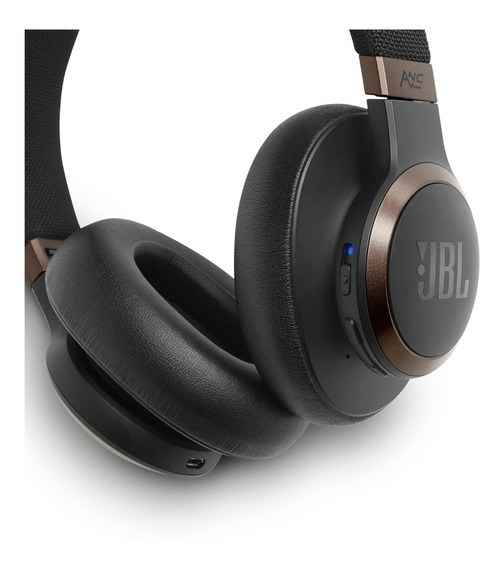 Fone De Ouvido / Headphone Jbl Live 650 Btnc Black Wireless