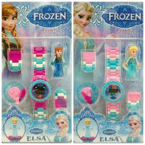 Relogio Digital Infantil Frozen + Lego Valor P/ Unidade