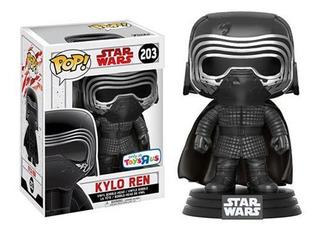 Funko Pop Star Wars Kylo Ren 203 Toysrus Original Nuevo