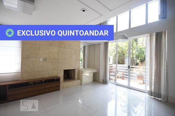 Apartamento No 1º Andar Com 1 Dormitório E 2 Garagens - Id: 892950821 - 250821