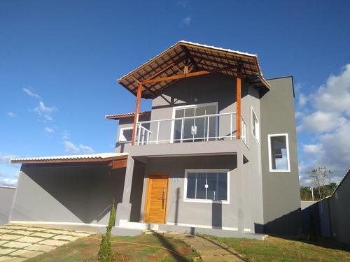Imagem 1 de 14 de Casa Em Condomínio Em São Lourenço Mg (2 Suítes E 1 Quarto)