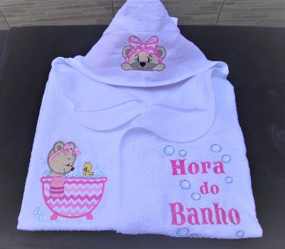 Toalhas Infantil Com Capuz Personalizada