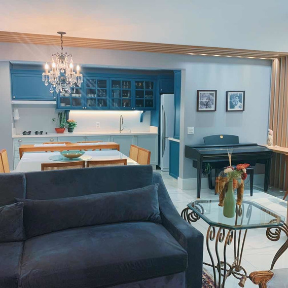 Apartamento Lindíssimo Decorado, 3 Suítes, 122m, 2 Vagas