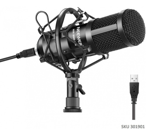 Microfono Neewer 8000 Condensador Usb Pc Mac Envio Ya W01