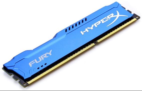 Ram Ddr3 1600 2x4 Gb Hyperx Blu Y Fury