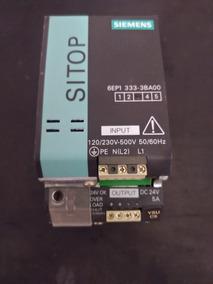Fonte Siemens Sitop 24v 5a