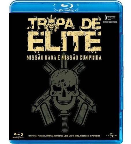 Blu Ray Tropa De Elite - Missão Dada É Missão Cumprida