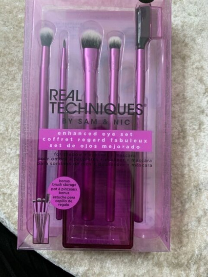 Brochas Real Techniques Enhanced Eye Set