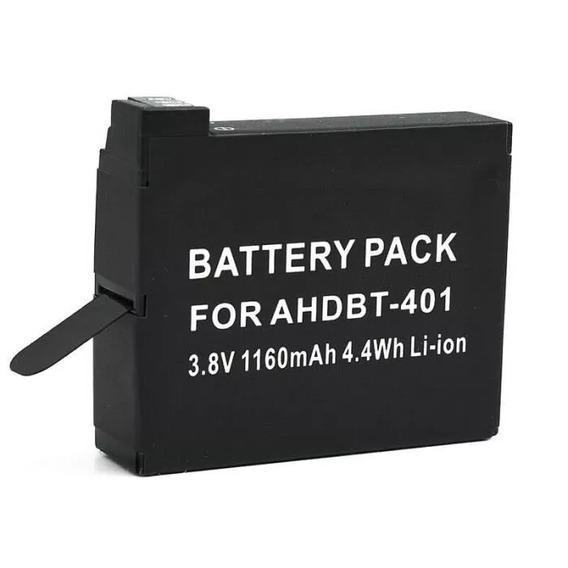 Bateria Para Gopro Hero4 Ahdbt-401 Em Sao Paulo