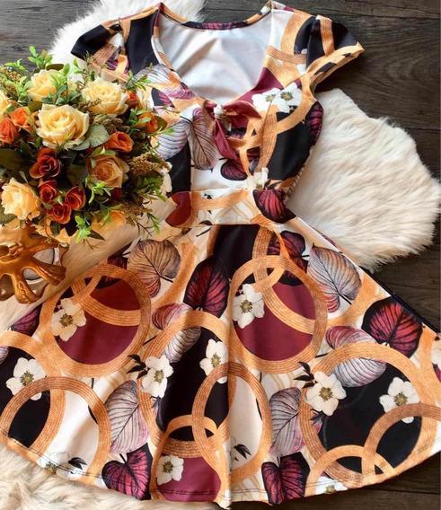 Vestidos Boneca Cintura Marcada Vários Modelos Com Bojo