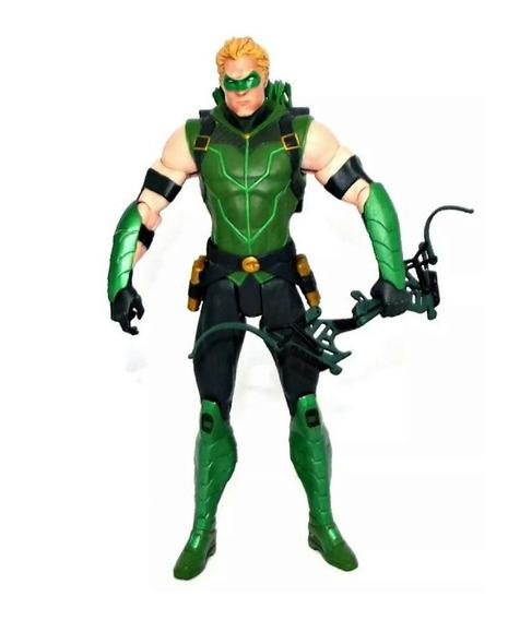 Boneco Action Figure Arqueiro Verde Dc Collectibles New 52