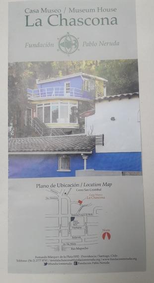 Folleto Casa Museo La Chascona