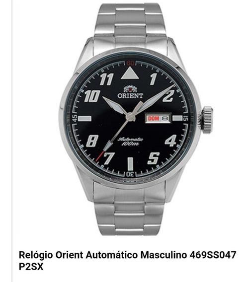 Relógio Orient Automático Masculino 469ss047 P2sx