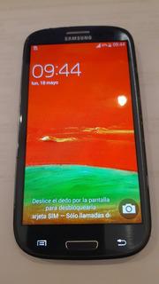 Celular Samsung Galaxy S3 Gt-i9300 - Azul - Liberado (dual)