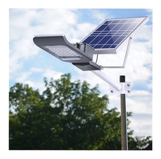 Lampara Alumbrado Publico Luminaria 60w Solar Panel Ip65