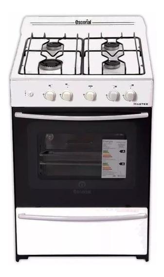 Cocina Multigas Master Full Blanca 56cm Encen Luz Cuotas