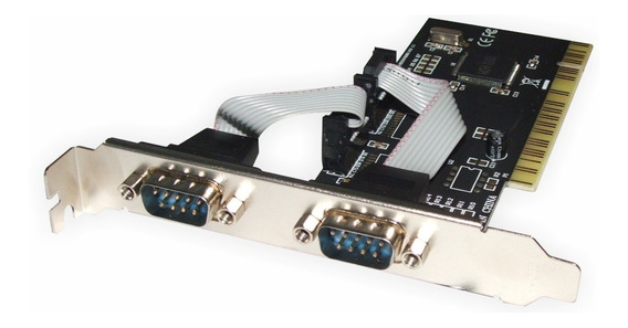 Placa Pci Con 2 Puertos Serie Rs232 Db9 Serial Impresoras