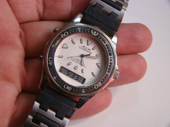 Relógio Cosmos Ana Digi Usado Retro Dec 90