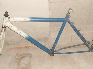 Quadro Para Bicicleta Com Garfo
