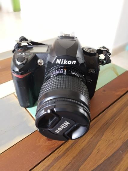 Cámara Nikon D70s + Lente Nikon 28-80 Mm