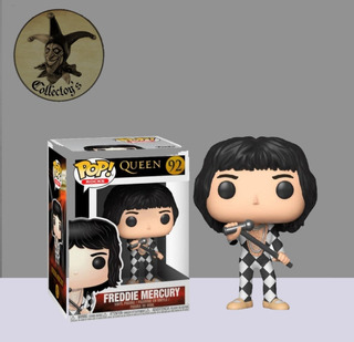 Freddie Mercury Queen 92 Funko Pop Orig Collectoys