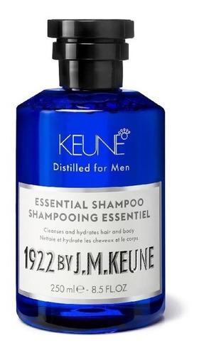Shampoo Masculino Keune 1922 Essential  250ml Formula Única