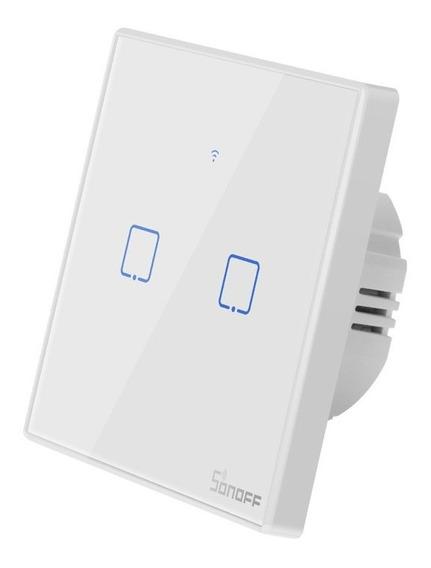 Sonoff Wifi Touch Switch T2eu 2 Gangue