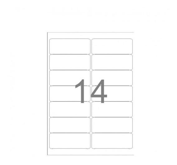 Etiqueta A4263 38,1x99,0mm 25 Folhas 14 Etiquetas - Maxprint