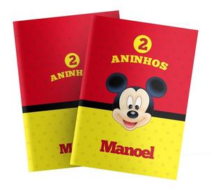 Arquivo Digital Livrinho De Colorir Personalizado - Mickey